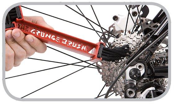 Zestaw Grunge Brush szczotka i olej do łańcucha rowerowego