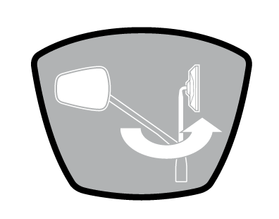 składane lusterko Espion Z56